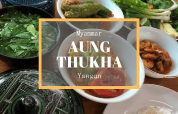 Aung Thukha Myanmmar Yangon