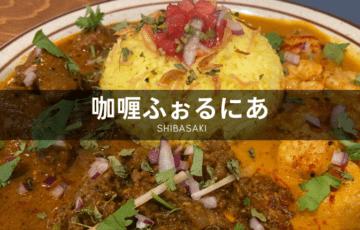 咖喱ふぉるにあ カレー 柴崎 調布 インドカレー スパイスカレー
